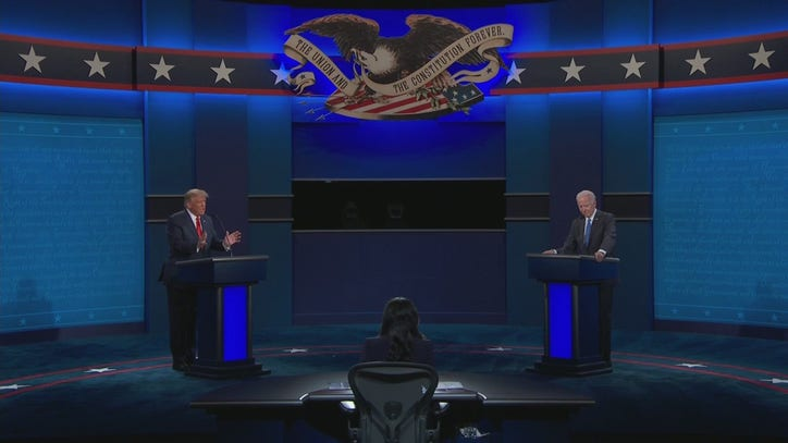 President Trump brings up Gov. Whitmer's husband in debate, says Michigan 'has been like a prison'