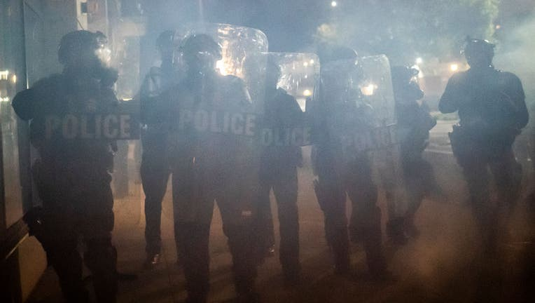 Portland Protesters Clash With Police and Federal Officers