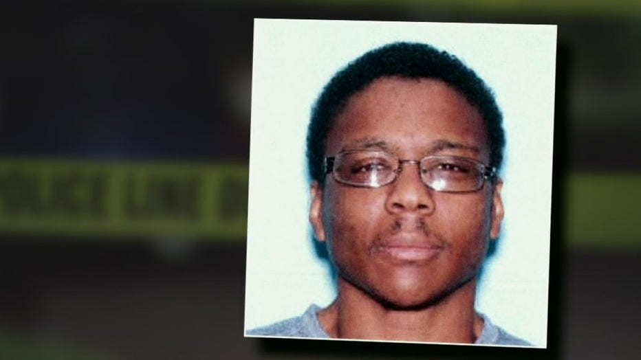 Murder suspect Michael Terry, who is currently at large.