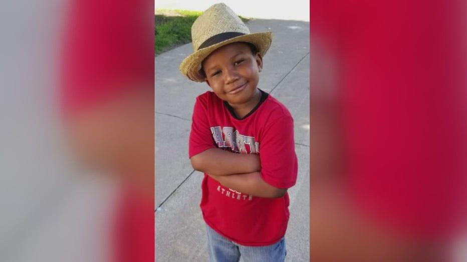 6-year-old murder victim Tai'raz Moore..