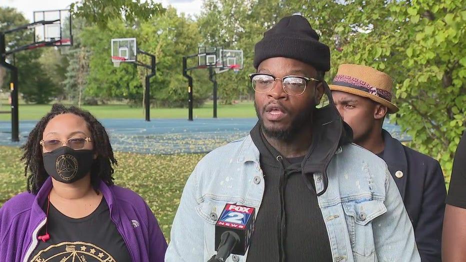 DuJuan Zoe, The People's Action, a Detroit community activism group..