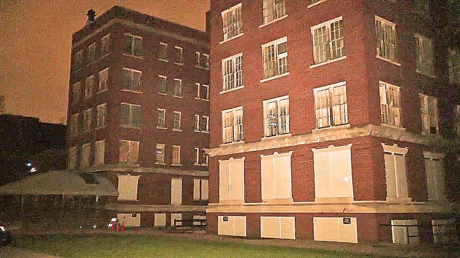 The former Eloise Asylum in Westland.