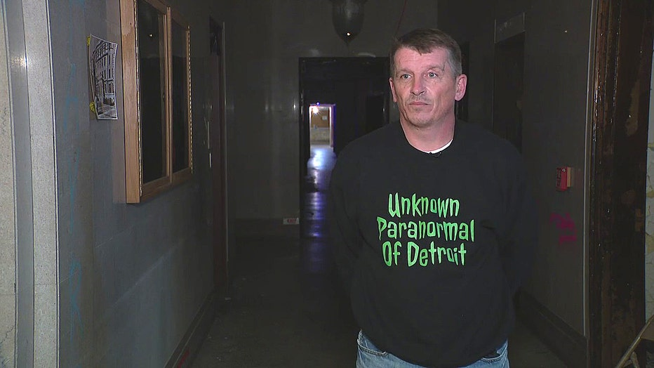 Joe Posey, lead investigator/founder Unknown Paranormal Detroit
