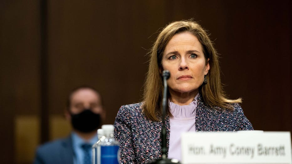 62e1b38e-Senate Holds Confirmation Hearing For Amy Coney Barrett To Be Supreme Court Justice