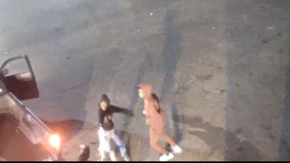 Photo still from DPD surveillance video