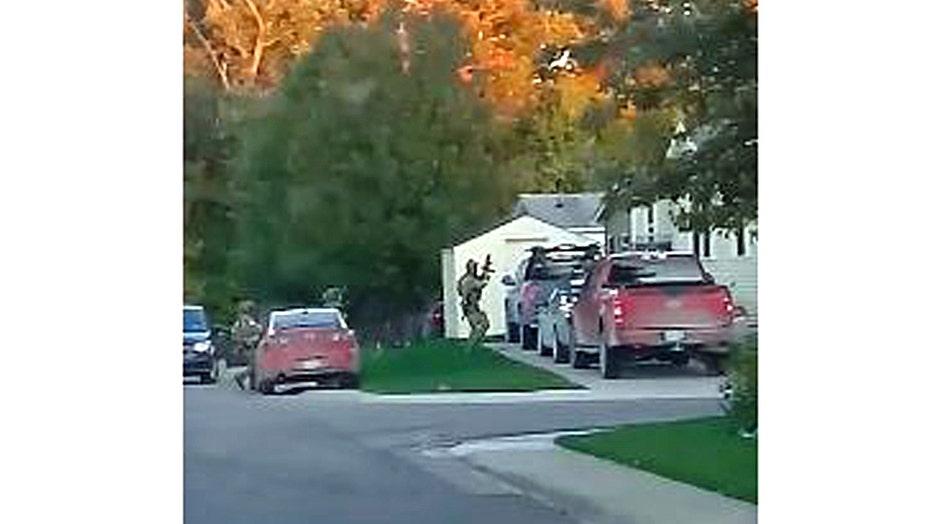 Photo still of one of the raids taken from video credit: Austin Burnett via TMX.news