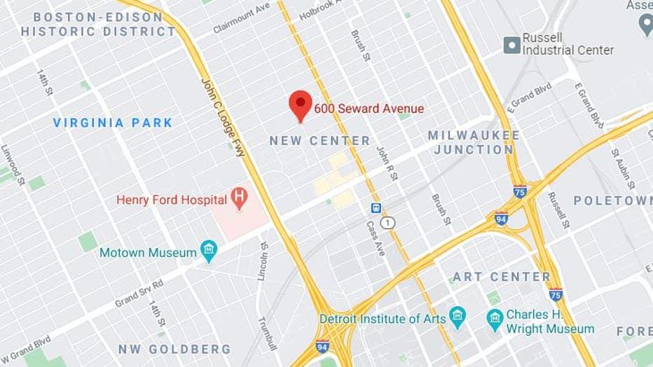 Seward shooting scene. Source: Google Maps