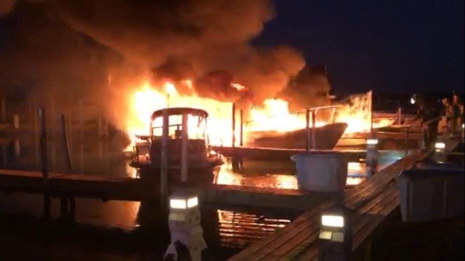 Ford Yacht Club Fire
