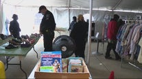 Donations pour in for Detroit police's Thanksgiving boutique