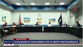 Michigan's State Board of Canvassers votes to certify election