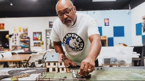 Detroit company tells story of 1st all-Black World War II tank unit in tabletop miniature game