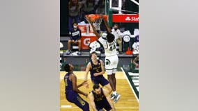 No. 13 Michigan State coasts to 80-70 win over Notre Dame