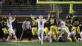Michigan rocked by Wisconsin at the Big House, QB Milton gets benched