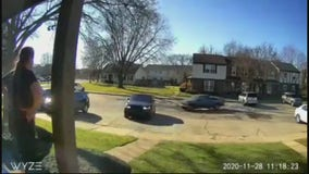 Parking lot shooting at Sterling Heights condo caught on surveillance camera