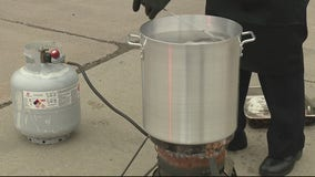 Detroit fire captain shares tips for deep frying a turkey