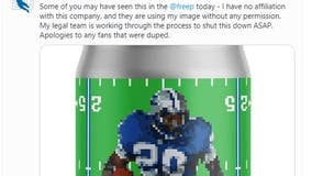 Barry Sanders unhappy with Eastern Market brewery's latest Detroit Lions-related beer