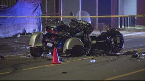 Driver rear-ends motorcyclists in Detroit late Monday, killing one and hospitalizing another
