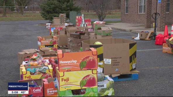 Springfield Township food drive organized to help families this Thanksgiving