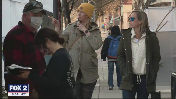 Celebrating Small Business Saturday in Downtown Royal Oak