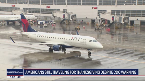 Americans still traveling for Thanksgiving, despite CDC recommendation