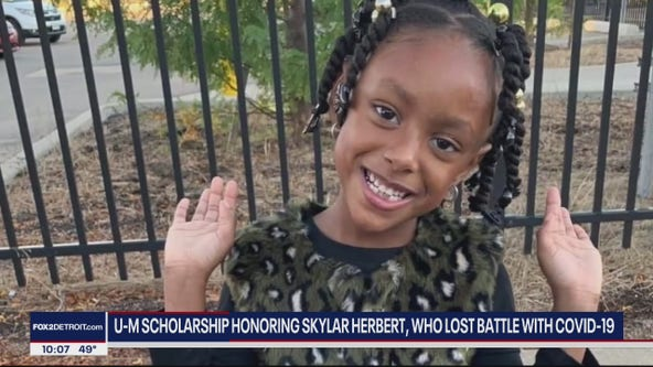 U of M scholarship created to honor Skylar Herbert, 5-year who died for COVID-19