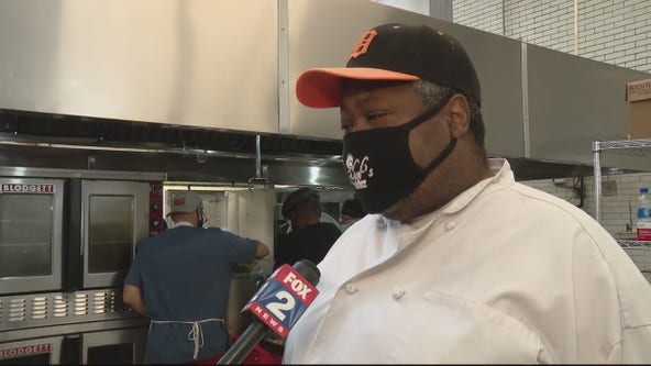 Chef and team prepares Thanksgiving meals for families in need
