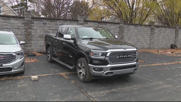 Man reunited with truck stolen in multi-car heist from Detroit dealership