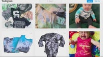 Michigan woman launches new career making tie dyed clothing and sales are soaring