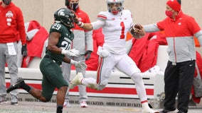 No. 3 Ohio State has no problem with Spartans in 52-12 win