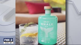 Making cocktails with Gray Whale Gin