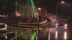 Woman hit by car looking at Christmas lights display in Grosse Pointe