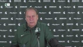 WATCH - Tom Izzo on MSU's loss to Wisconsin