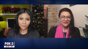 Congresswoman Tlaib reacts to President's signing of Covid relief bill