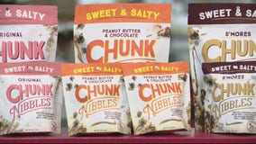 Berkley man's grandmother's recipe is a hit with Chunk Nibbles sweet and salty snacks