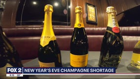 New Year's Eve champagne shortage