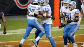 Stafford throws 3 TDs, Lions rally to beat Bears 34-30
