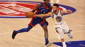 Big run in 4th quarter lifts Warriors over Pistons 116-106