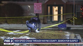 High speed chase leaves police searching for burglary suspects in Inkster