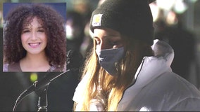 Mourners gather at vigil to honor life of college freshman found dead under suspicious circumstances