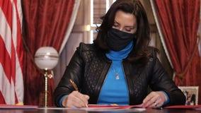 Michigan Gov. Gretchen Whitmer signs $106M relief bill, extends unemployment benefits