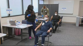 First 2 healthcare workers with Ascension Health get COVID-19 vaccine dose