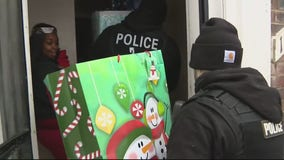 Detroit mom meets officer who helped save son's life after shooting as part of DPD's Sgt. Santa
