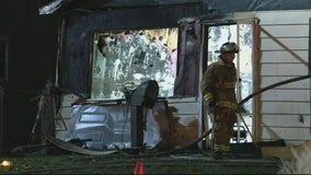 Construction crew strikes gas line causing home explosion in Warren