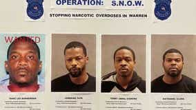 4 men charged after fentanyl trafficking ring busted by Warren police