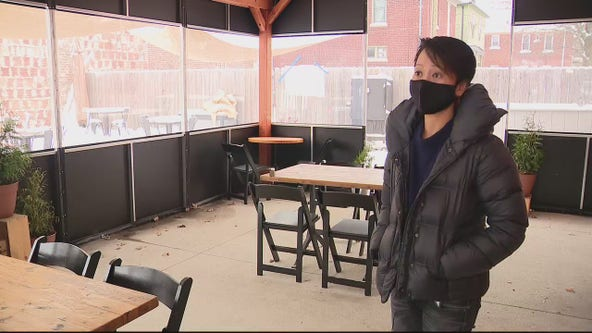 Customers rally around Detroit restaurant that had heat lamps stolen from outdoor dining area