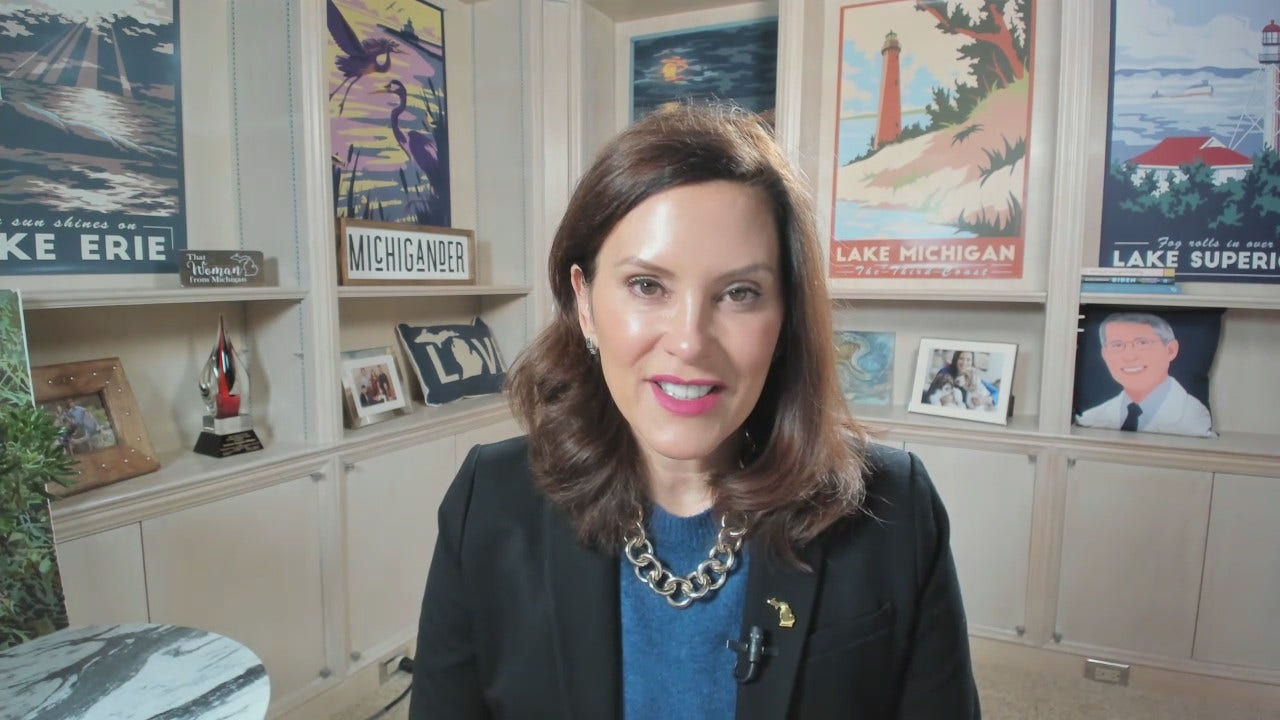 WLNS-TV: Michigan Dem Gov Candidate Gretchen Whitmer Is In