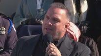 Watch Garth Brooks sing 'Amazing Grace' at the inauguration of VP Kamala Harris and President Joe Biden