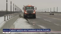 MDOT names snow plows and is asking for the public's help
