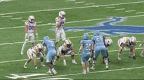 High school state football finals are underway at Ford Field