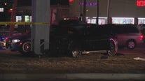 Possible homicide suspect crashes on Detroit's east side